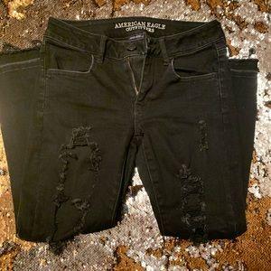 AE Super Stretch Distressed Jeans